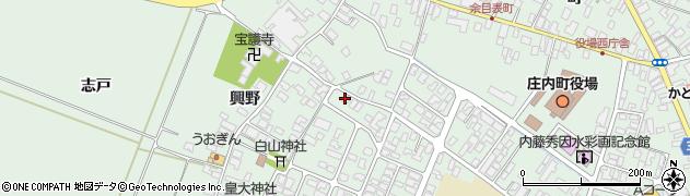 山形県東田川郡庄内町余目猿田69周辺の地図
