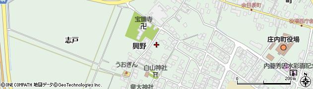 山形県東田川郡庄内町余目興野51周辺の地図
