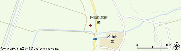 山形県酒田市山寺宅地181周辺の地図