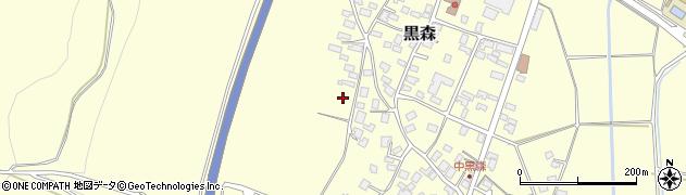 山形県酒田市黒森境山470周辺の地図