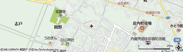 山形県東田川郡庄内町余目猿田109周辺の地図