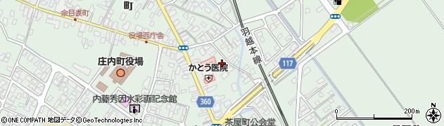 山形県東田川郡庄内町余目町17周辺の地図