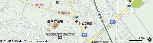 山形県東田川郡庄内町余目町21周辺の地図