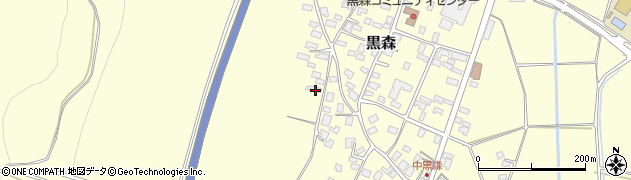 山形県酒田市黒森境山484周辺の地図