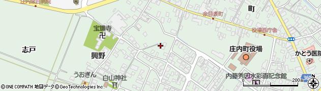 山形県東田川郡庄内町余目猿田106周辺の地図
