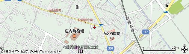 山形県東田川郡庄内町余目町125周辺の地図