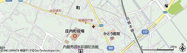 山形県東田川郡庄内町余目町126周辺の地図