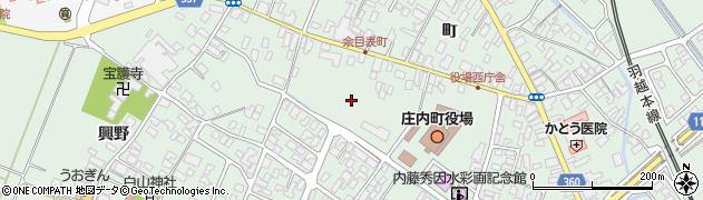 山形県東田川郡庄内町余目町153周辺の地図