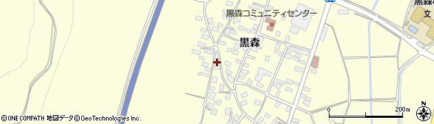 山形県酒田市黒森230周辺の地図