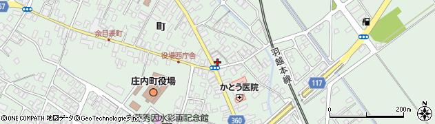 山形県東田川郡庄内町余目町60周辺の地図