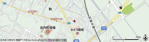 山形県東田川郡庄内町余目町58周辺の地図