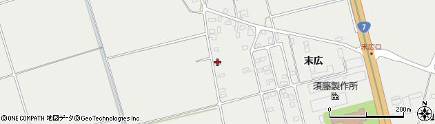 山形県酒田市広野末広12周辺の地図