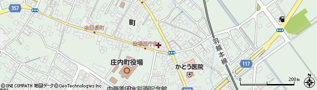 山形県東田川郡庄内町余目町115周辺の地図