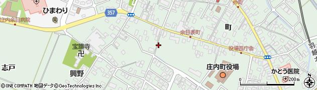 山形県東田川郡庄内町余目町168周辺の地図