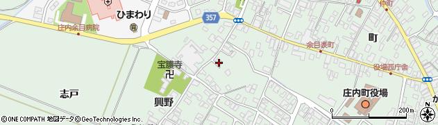 山形県東田川郡庄内町余目興野26周辺の地図