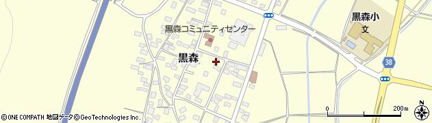 山形県酒田市黒森草刈谷地140周辺の地図