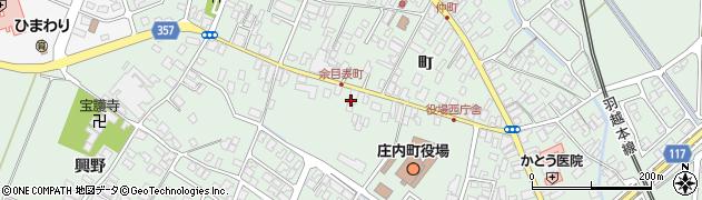 山形県東田川郡庄内町余目町151周辺の地図