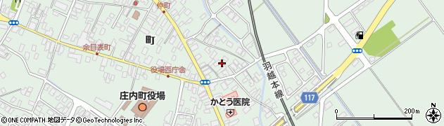 山形県東田川郡庄内町余目仲町周辺の地図