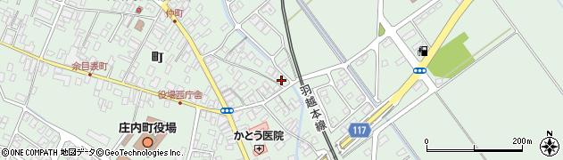 山形県東田川郡庄内町余目町40周辺の地図