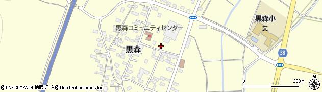 山形県酒田市黒森草刈谷地158周辺の地図