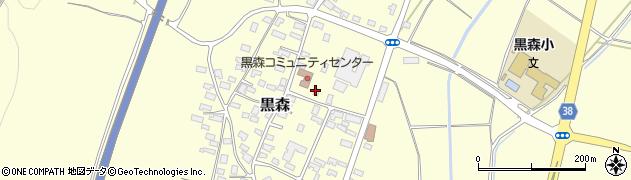 山形県酒田市黒森草刈谷地78周辺の地図
