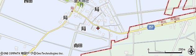 山形県酒田市局局5周辺の地図