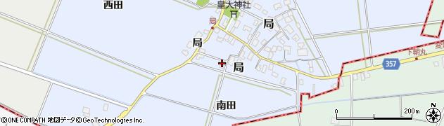 山形県酒田市局局23周辺の地図