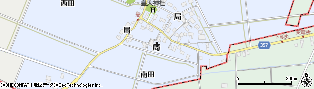 山形県酒田市局局19周辺の地図