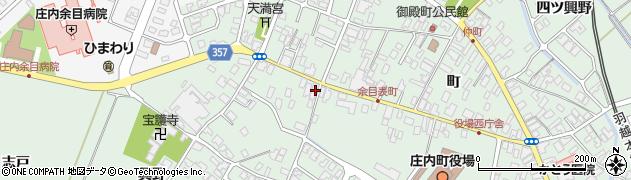 山形県東田川郡庄内町余目町170周辺の地図