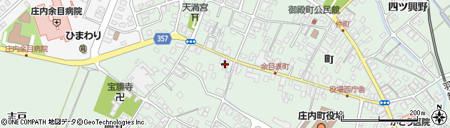 山形県東田川郡庄内町余目町172周辺の地図