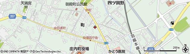 山形県東田川郡庄内町余目町110周辺の地図