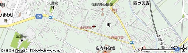山形県東田川郡庄内町余目町149周辺の地図