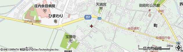 山形県東田川郡庄内町余目興野35周辺の地図