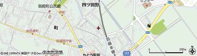 山形県東田川郡庄内町余目四ツ興野133周辺の地図