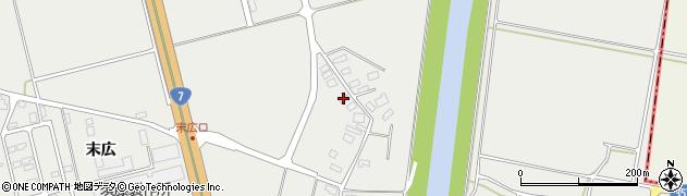 山形県酒田市広野下通155周辺の地図