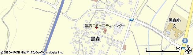 山形県酒田市黒森境山616周辺の地図
