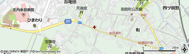山形県東田川郡庄内町余目町176周辺の地図