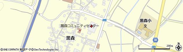 山形県酒田市黒森草刈谷地180周辺の地図
