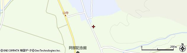 山形県酒田市山寺笹山周辺の地図