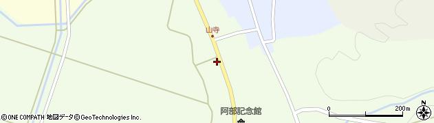 山形県酒田市山寺宅地222周辺の地図