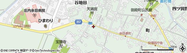 山形県東田川郡庄内町余目町183周辺の地図