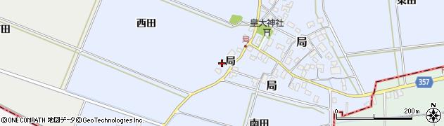 山形県酒田市局局67周辺の地図