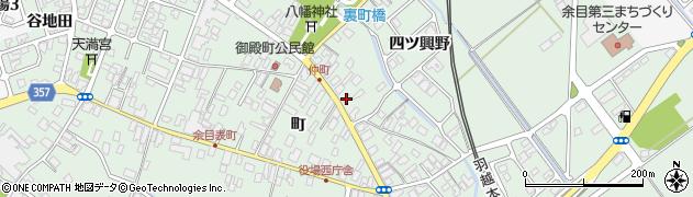 山形県東田川郡庄内町余目町82周辺の地図