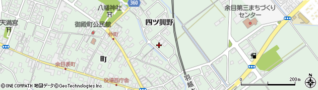 山形県東田川郡庄内町余目四ツ興野117周辺の地図