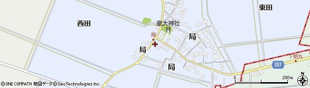山形県酒田市局局63周辺の地図