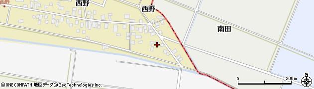 山形県東田川郡庄内町西野西野5周辺の地図