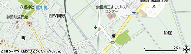 山形県東田川郡庄内町余目藤原野38周辺の地図