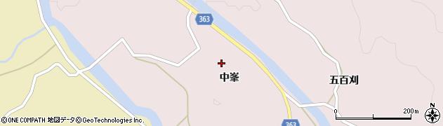 山形県酒田市山元(中峯)周辺の地図