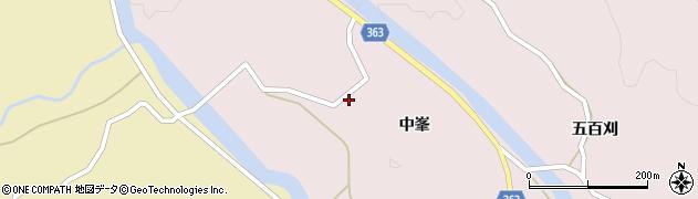 山形県酒田市山元中峯49周辺の地図