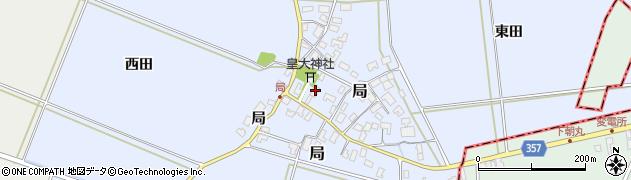 山形県酒田市局局28周辺の地図